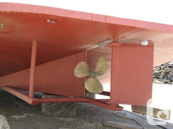 1995 30ft steel hull trawler tug boat