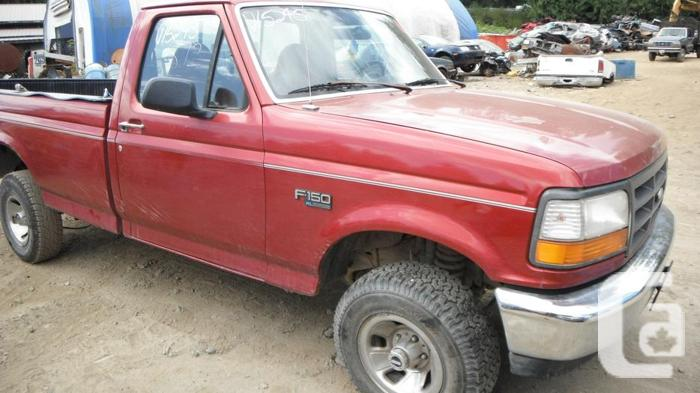 1995 ford f150 4 wd 5 speed for parts for sale in malahat. Black Bedroom Furniture Sets. Home Design Ideas