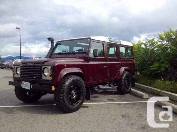 1995 land rover defender 110 for sale in abbotsford british columbia classifieds. Black Bedroom Furniture Sets. Home Design Ideas