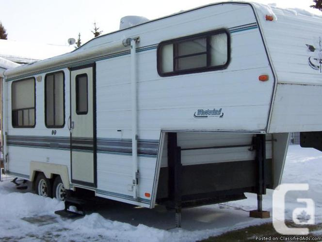 1995 westwind 5th wheel trailer for sale in rimbey