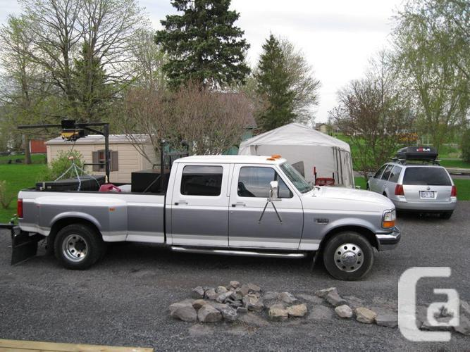 1996 ford f 350 xlt 7 3 power stroke diesel truck for sale in orleans ontario classifieds. Black Bedroom Furniture Sets. Home Design Ideas