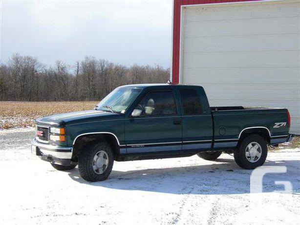 1996 GMC Sierra 1500 Z71 SLT OUTSIDE GREATER TORONTO