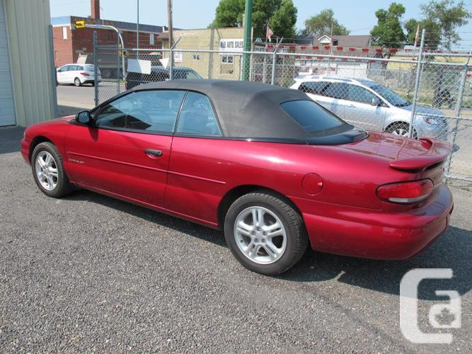 1997 chrysler sebring jx convertible only 56800 original. Cars Review. Best American Auto & Cars Review