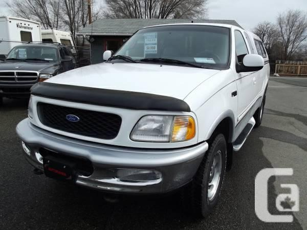 1997 ford f 150 lariat 4x4 for sale in kamloops british columbia classifieds. Black Bedroom Furniture Sets. Home Design Ideas