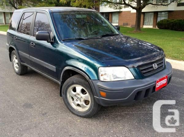1997 HONDA CRV EXL AUTOMATIC 4X4 FULLY LOADED! - $2795
