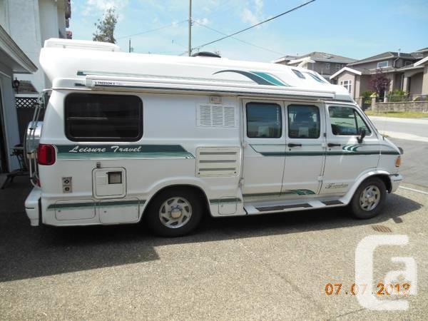 British Columbia For Sale 1997 Leisure Travel Camper Van