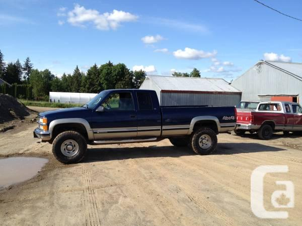 1998 Chevy Silverado 2500 Hd Ext Cab Long Container 00 In Abbotsford British Columbia For Sale