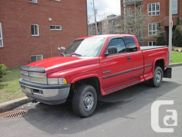 1998 dodge ram 2500 cummings diesel for sale in montreal quebec classifieds. Black Bedroom Furniture Sets. Home Design Ideas