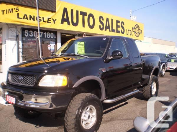 1998 FORD F150 XLT AUTO - $6900