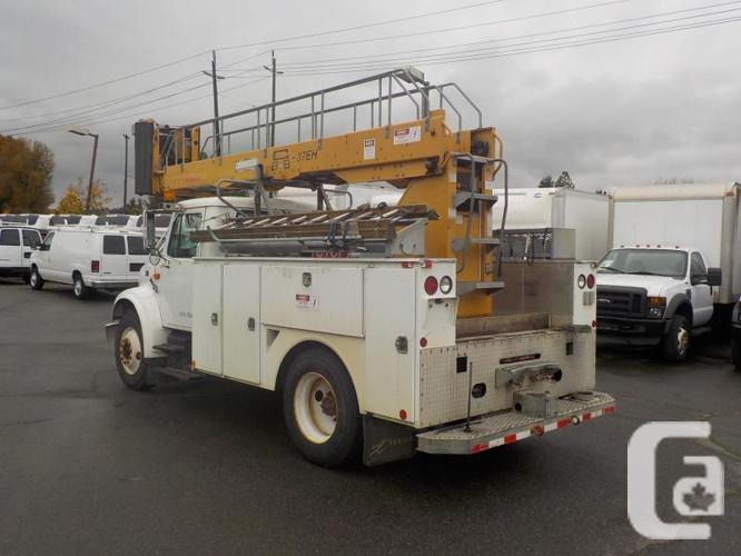 1998 International 4700 Diesel Bucket Truck with