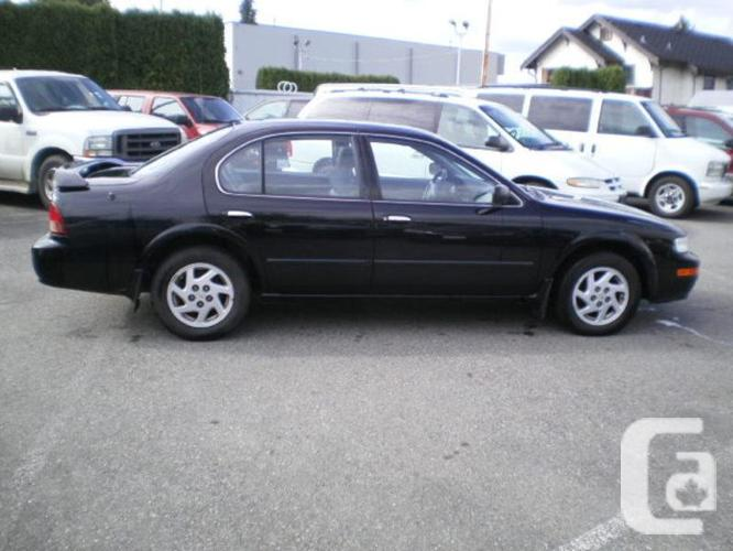 1998 Nissan Maxima Gle Leather Sunroof For Sale In Delta