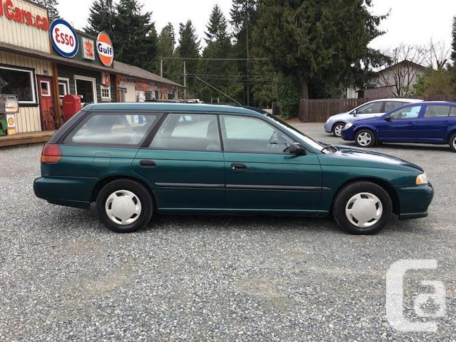 1998 Subaru Legacy All-Wheel-Drive Wagon