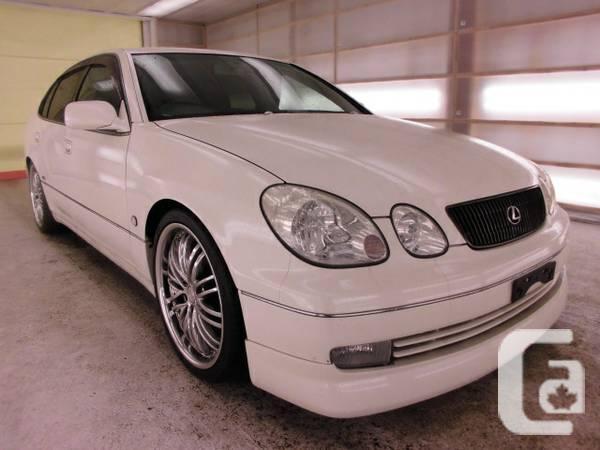 1998 Toyota Aristo V300 VERTEX EDITION, 2JZ twin turbo