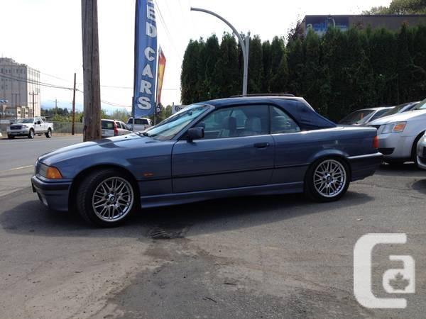 1999 bmw 328i convertible e36 automatic for sale in abbotsford british columbia. Black Bedroom Furniture Sets. Home Design Ideas