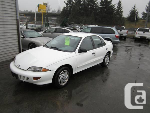 1999 Chevrolet Cavalier Sedan - $2495