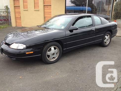1999 Chevrolet Monte Carlo - $2500