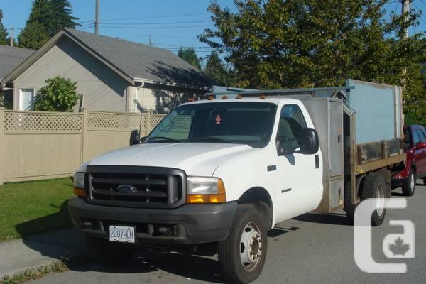 1999 Ford F450 Dump Box - $10500