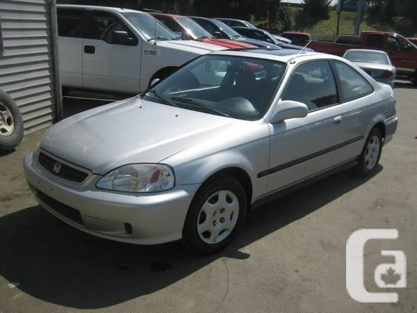 1999 HONDA CIVIC SI - $4695 in Vancouver, British Columbia for sale