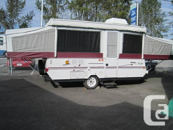 1999 Jayco Eagle 12so Tent Trailer W Dinette Slideout