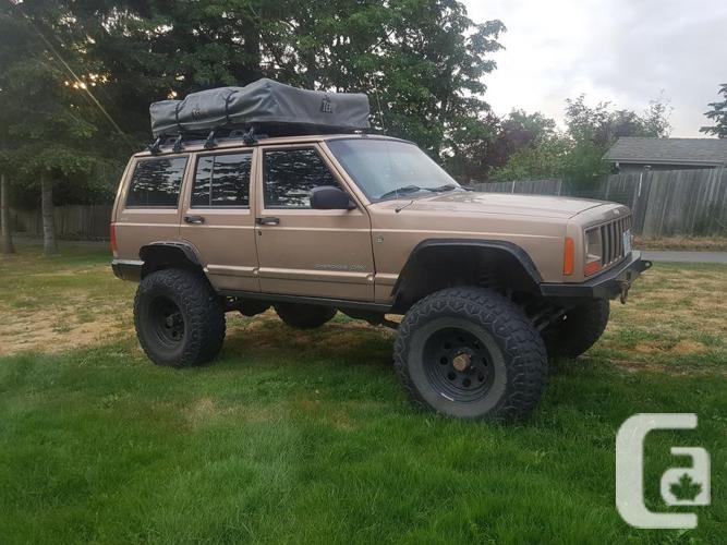 1999 jeep Cherokee xj with rooftop tent & 1999 jeep Cherokee xj with rooftop tent for sale in Victoria ...