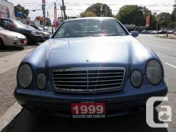 1999 mercedes benz clk 95 for sale in toronto ontario for Mercedes benz for sale ontario