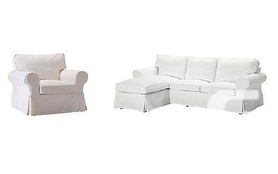 $199 IKEA EKTORP Cover for Loveseat with Chaise &