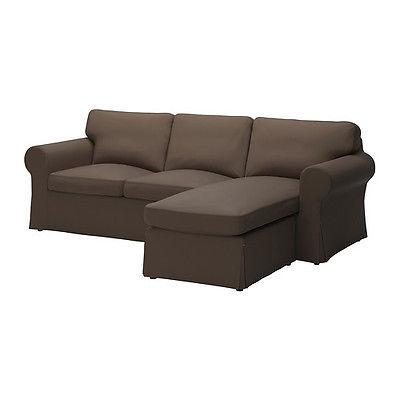 $199 IKEA EKTORP - Slipcover for Loveseat with Chaise