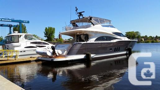 $2,599,000 2011 Marquis 720 Fly-Bridge Boat for Sale