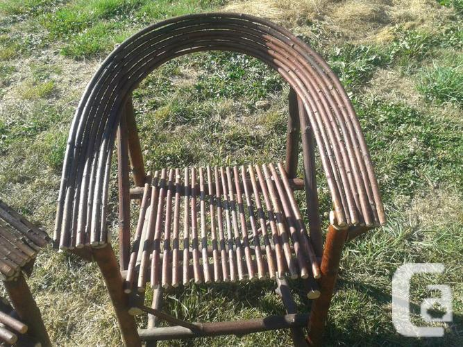 2 Bent Willow Chairs For Sale In Cassidy British Columbia Classifieds