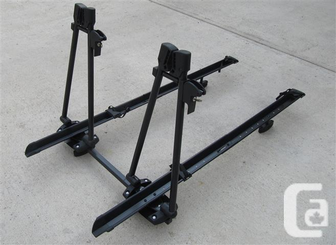 2-Bicycle Upright Roof Bike Carrier