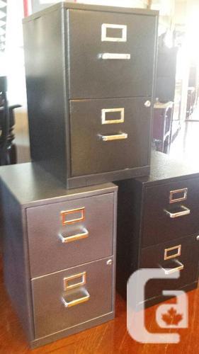 2-drawer vertical letter-size filing cabinets, 3