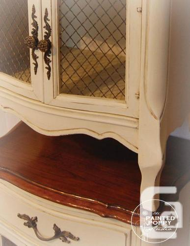 2 French Provincial Bedside Tables For Sale In Nanaimo