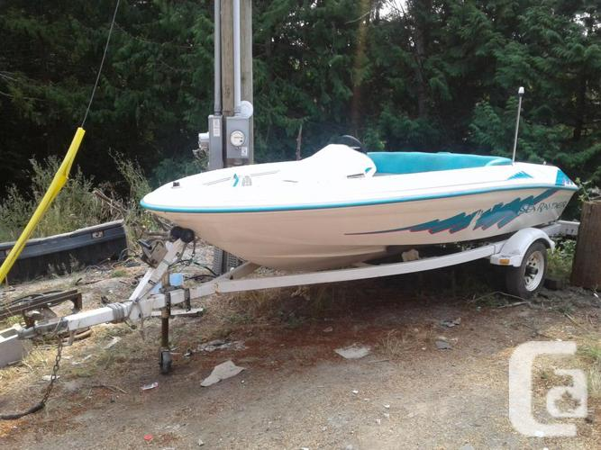 2 Jet boats  1 Searay, 1 inflatable, hard bottom  in Malahat, British  Columbia for sale
