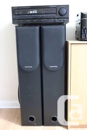 2 Kenwood Tower Speakers - $80