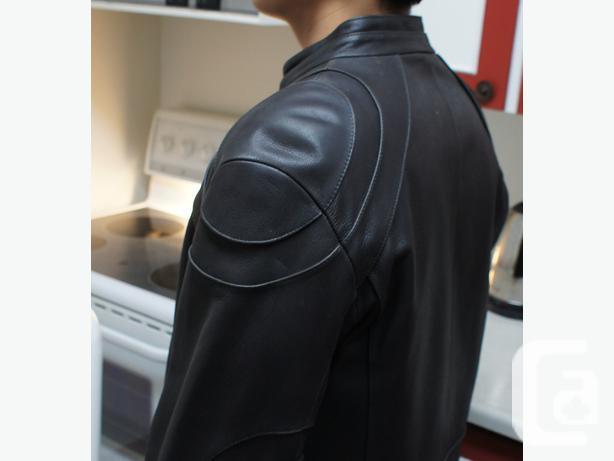 2 leather coats
