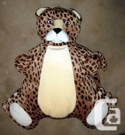 2 Like-New Stuffed Bonhomme Cushions/Pillows or Toys -