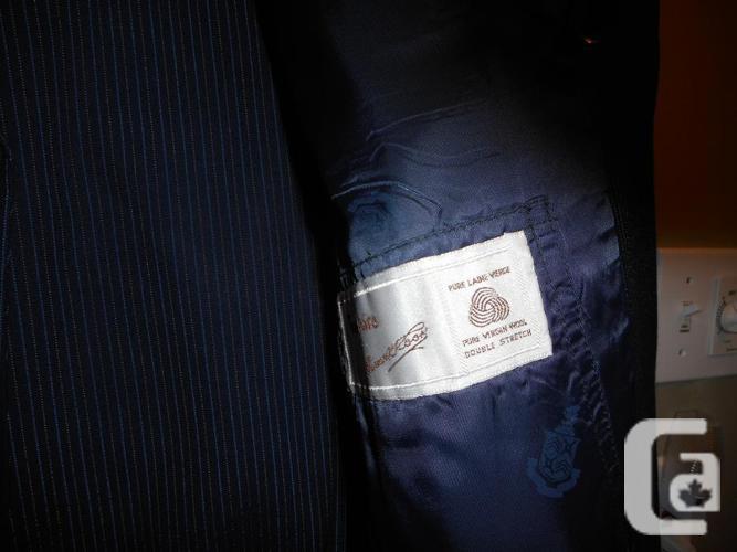 2 men's suits