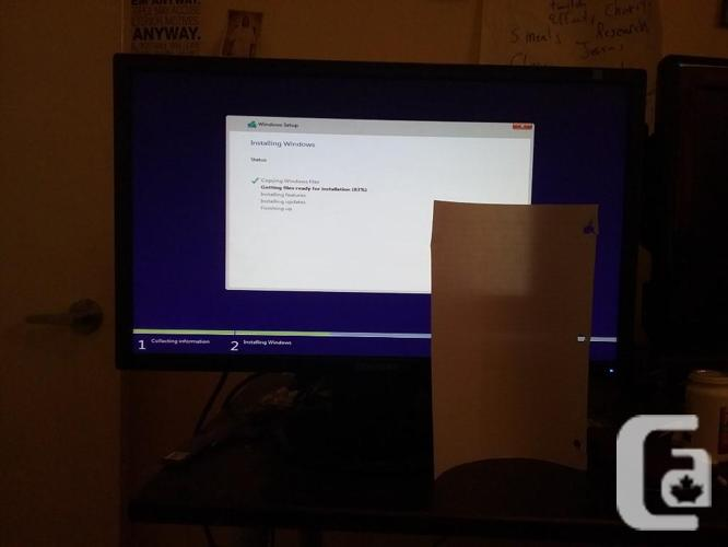 2 Monitors Worth Roughly 100 Each For 50 Each 24 Inch