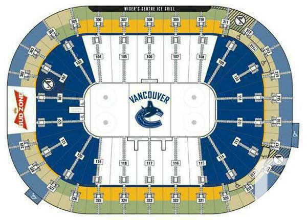 2 or 4 Tickets for the Detroit Red Wings vs Canucks -