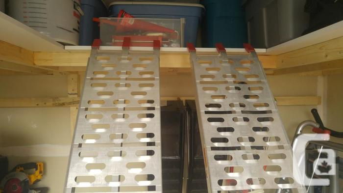 2 PIECE ATV OR MOTORCYCLE RAMPS