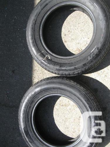 2 used WINTER Kumho Tires p155/ 80  R13