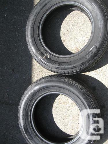 2 used WINTER Kumho Tires p155/ 80  R13