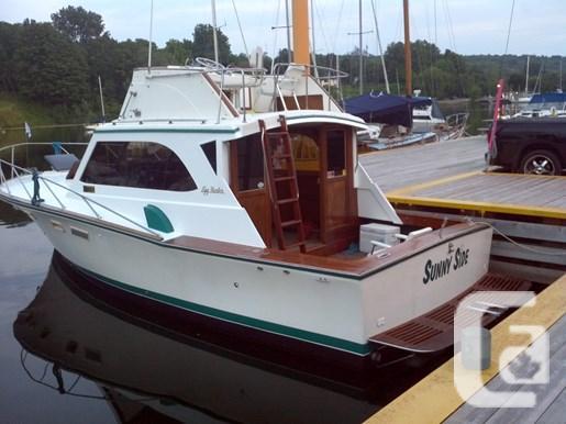 $20,000 1976 EGG HARBOR SPORT FISH (GOLDEN EGG) Boat