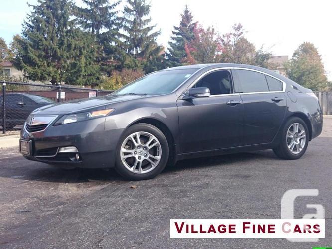 $20,200 Used 2012 Acura TL 6-Speed AT