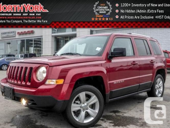 $20,998 Used 2015 Jeep Patriot Limited 4x4 Leather