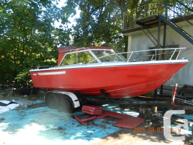 20 foot 1979 Sangster....paper's for boat and