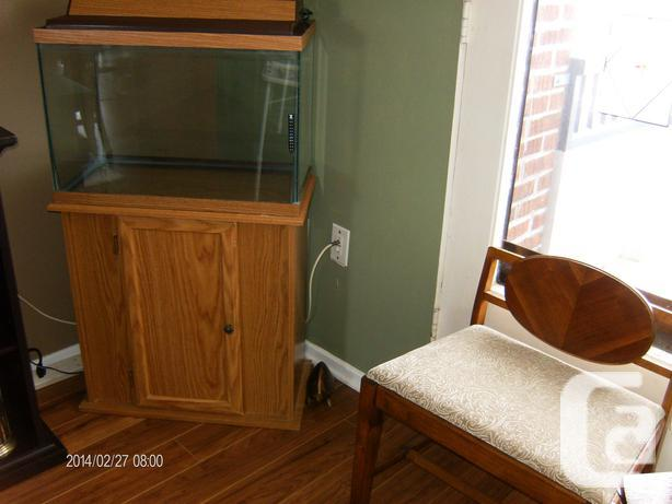 20 Gal. Aquarium with Matching Cabinet Style Stand