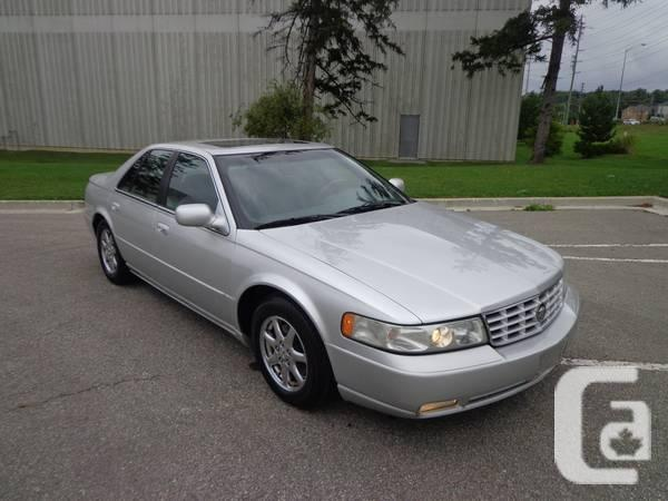 2000 cadillac sts seville sedan for sale in toronto. Cars Review. Best American Auto & Cars Review