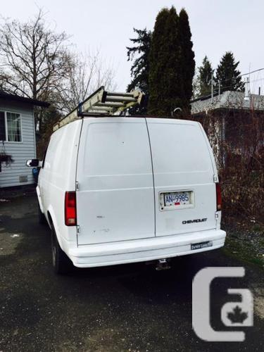2000 Chevy Astro Cargo Van