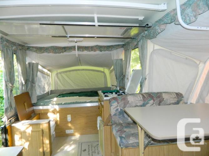 2000 coleman pop up camper value